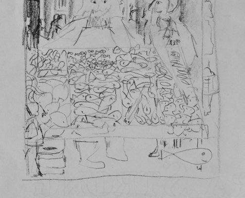 Ludovico, der Löwe, Kinderbuch, Steinlöwe, Venedig, © Sigrid Wurzinger