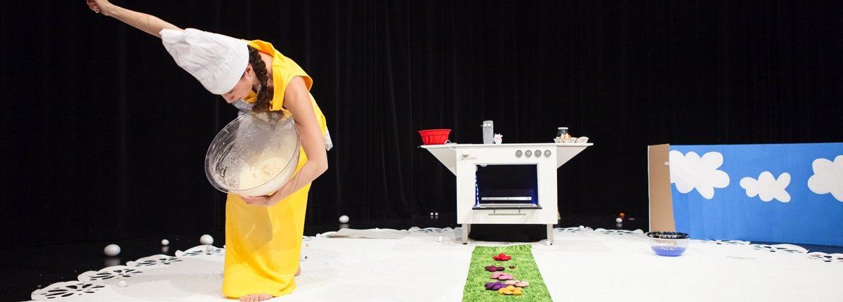 Kugelhupf, Kindertheater, Musik, Tanz, Quirl, Teigschüssel, Tortendeckchen, © Sigrid Wurzinger