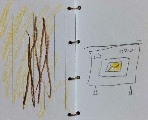 Kugelhupf, Kochbuch, Skizze, Vanille, © Sigrid Wurzinger