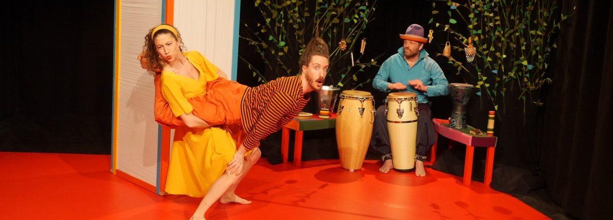 Sag mal..., Kindertheater, Tanz, Musik, © Sigrid Wurzinger