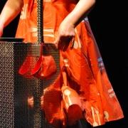 Austropopo, Detail Kleid, © Sigrid Wurzinger