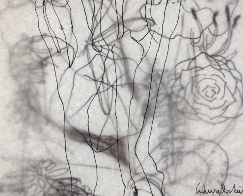 Die lachende Füchsin, Skizze, © Sigrid Wurzinger